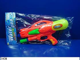 Водный пистолет 2823-2 (96шт/2) с насосом, в пакете 34см
