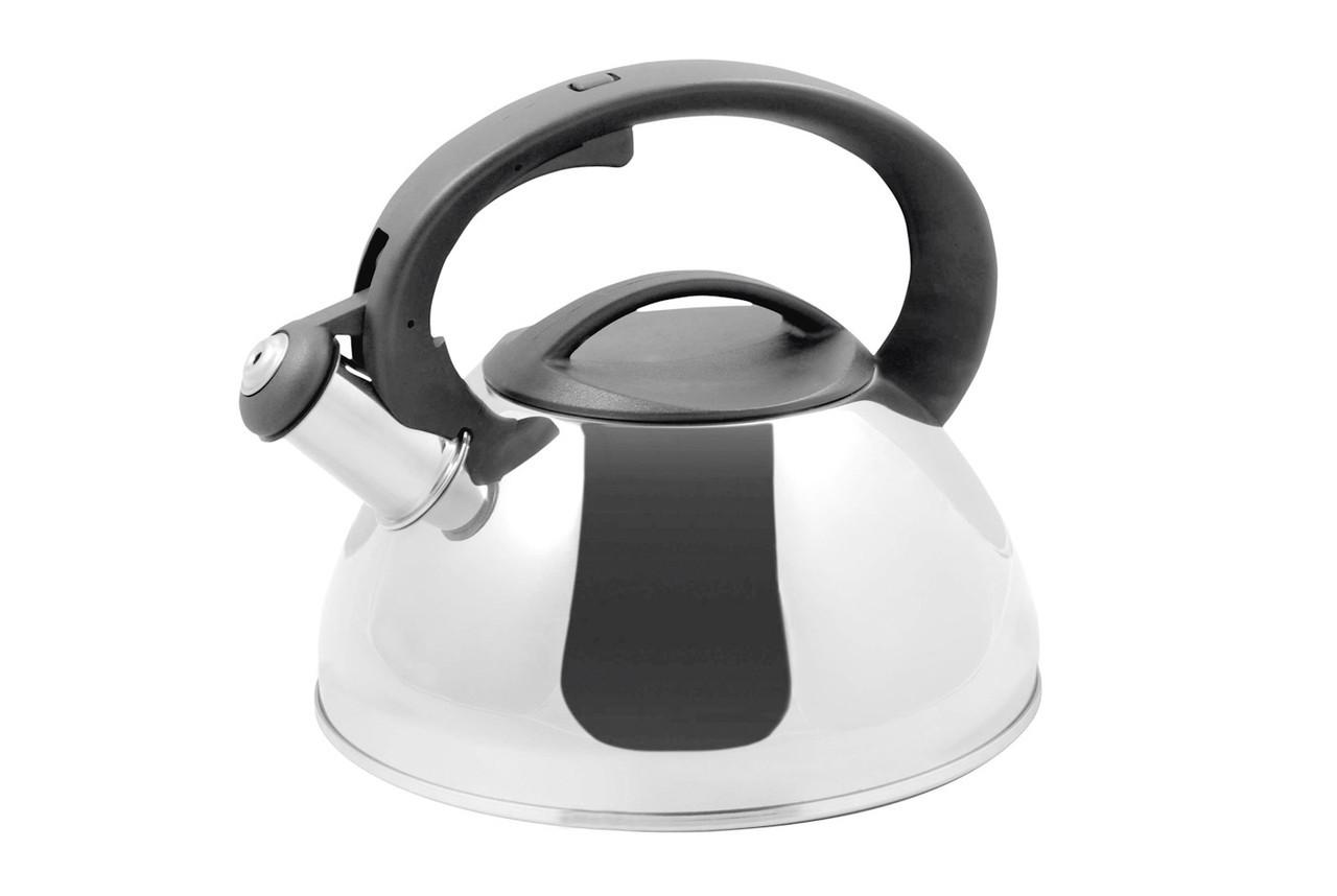 Чайник зі свистком Vinzer Sfera 2,5 л нержавійка (89013 Vinzer)