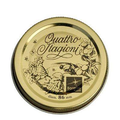 Крышка BormioliRocco Fido для банок 1л/1,5л 2 штуки d8,6 см стекло (895160 BR)