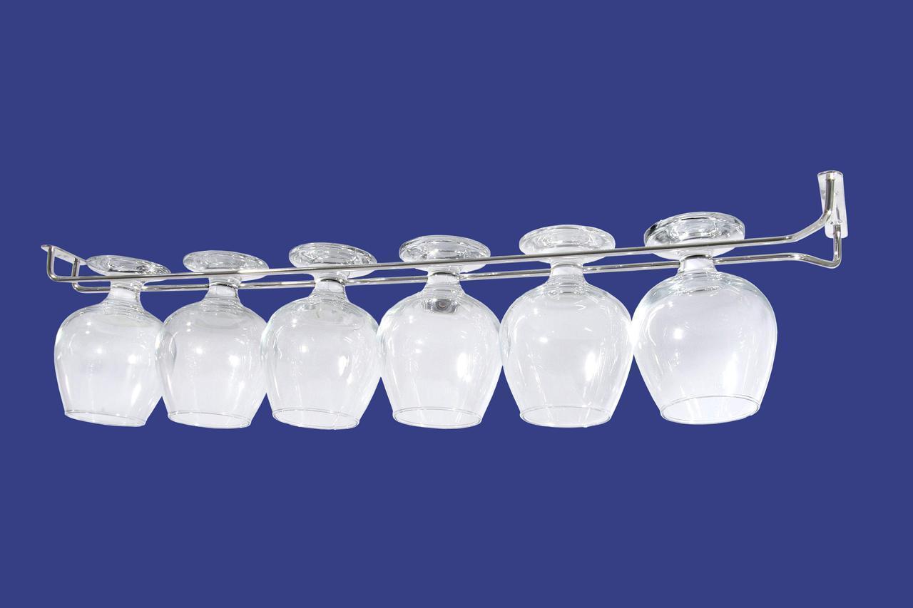 Держатель для бокалов Steelay  длина 50 см (500 дз/п)