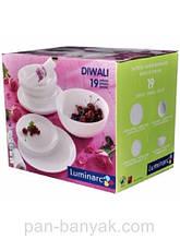 Сервиз столовый Luminarc Diwali 19 предметов стеклокерамика (5869H)