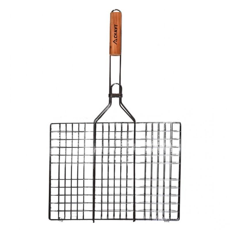 Решетка для барбекю Скаут  40х30 см h2 см метал (0707 Скаут)