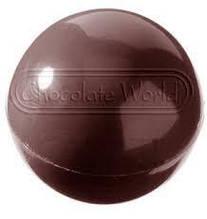 """Форма для шоколаду Chocolate World """"сфера"""" 36 штук 2*4г d2,5 см полікарбонат (1158 CW)"""