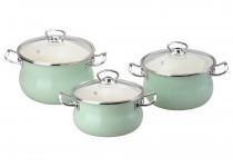 Набор посуды Epos Мятна прохолода 6 предметов эмалированая сталь (№1000 Мятна прохолода)