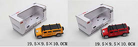 Машина метал. MB1168-2-6(1762546/50) (60шт/2) свет,звук,откр.двери,2 цвета, в кор. 19,5*9,5*10см