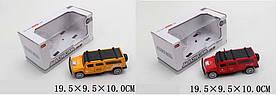 Машина метал. MB1168-4-5 (1762548/9) (60шт/2) свет,звук,откр.двери,2 цвета, в кор. 19,5*9,5*10см