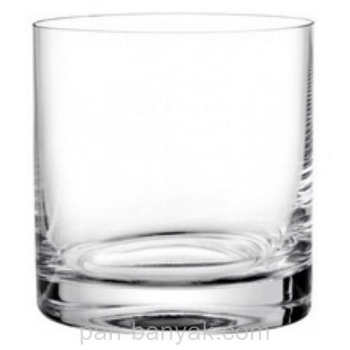 Barline Набор стаканов низких 6 штук 280мл d8 см h9 см богемское стекло Bohemia