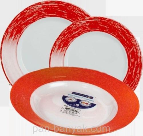 Сервиз столовый Luminarc Color Days Red 18 предметов ударопрочное стекло (1507L)