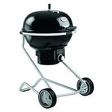 Вугільний гриль для барбекю з контролем подачі повітря в чорному кольорі Rosle 1 AIR F60 R25006