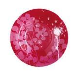 Тарелка глубокая Luminarc Red Dream круглая с бортом d24 см стеклокерамика (9603)