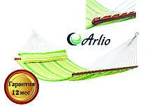 Гамак тканинний веселкового кольору Arlio BORNEO. Двомісний з планкою 3.2 м х 1.2 м