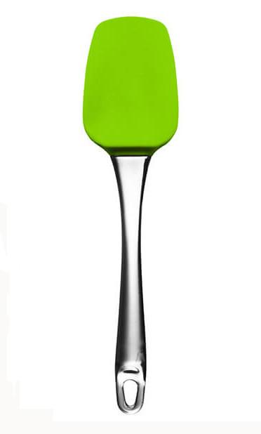 Лопатка кондитерская Maestro Green зеленая силикон (1583Green MR)