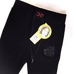 Стильные брюки узкие детские и подростковые Цвет Черный Рост 120-170см, фото 2
