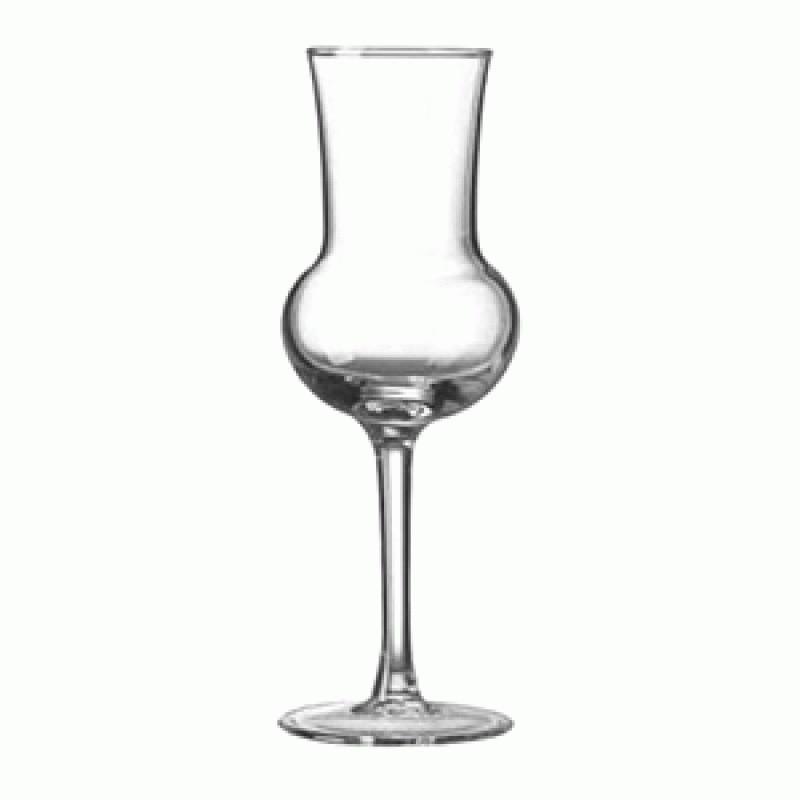 Рюмка BormioliRocco Riserva для граппы grappa 80мл d5,6 см h16,3 см стекло (166181 BR)