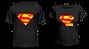 """Парные футболки """"Супермен и Супергёл"""""""