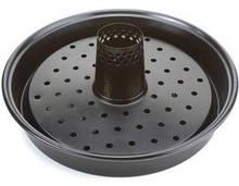 Стойка для курицы с поддоном из нержавеющей стали с керамическим антипригарным покрытиемGrillPro 98240
