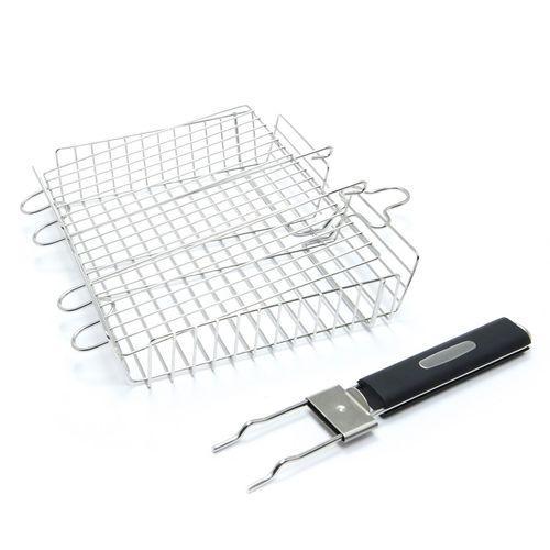 Решетка для приготовления барбекю из высококачественной нержавеющей стали и бакелита Broil King (65070)