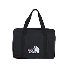 Сумка-чехол для автомангала на 6 шампуров из прочного винила 45 х 35 см черного цвета Smoke House