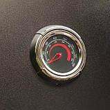 Коптильня газовая вертикальная с крючками и решеткой для мяса и термометром в черном цвете Broil King 923613, фото 4
