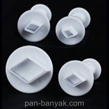 "Форма для печива Empire ""ромбики"" 4 штуки пластик (8617 EM)"