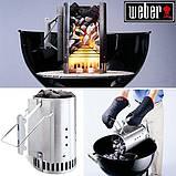 Стартер для розжига углей из алюминиевой стали 19 х 19 х 30 см Weber (7416), фото 2