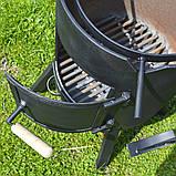"""Пічка під казан 3 мм в комплекті з підставкою і кочергою зі сталі """"Троян"""", фото 3"""