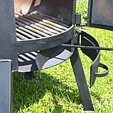 """Пічка під казан 3 мм в комплекті з підставкою і кочергою зі сталі """"Троян"""", фото 4"""