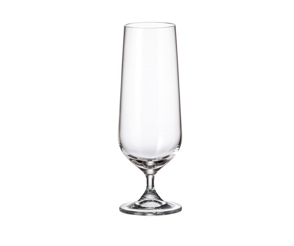 Набор бокалов для пива Bohemia Strix 6 штук 380мл богемское стекло (1SF73/00000/380)
