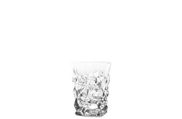 Набор стаканов низких Bohemia Icy/Glacier 6 штук 190мл богемское стекло (33K01/0/93K52/190)