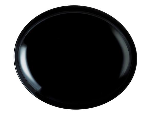 Блюдо Luminarc Friends Time Black для стейка 30х23 см стеклокерамика (2177N)
