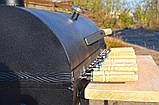 Мангал гриль с шампурами и кочергой для углей для барбекю в черном цвете Троян Манг-004, фото 7