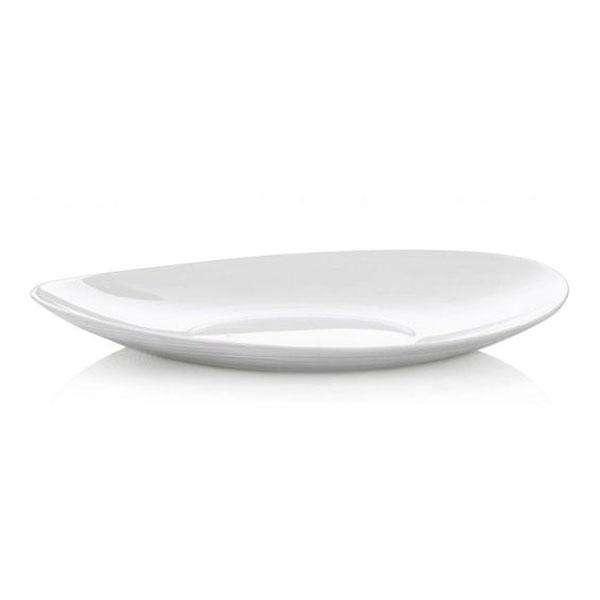 Блюдо BormioliRocco Prometeo для стейка 32х26 см стеклокерамика (431280 BR)