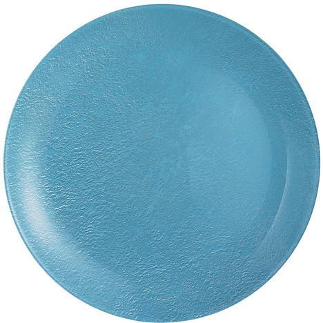 Тарелка десертная Luminarc Stony Blue круглая без борта d20,5 см ударопрочное стекло (1275L)