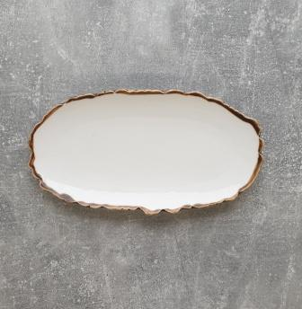 Тарелка ALT Porcelain Oasis овальная 25х13,5 см (FC0048-10)