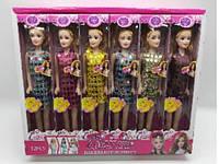 Кукла типа Барби 9208C (480шт/2), 6 видов ,29 см, в кор. 39*6.5*30 см