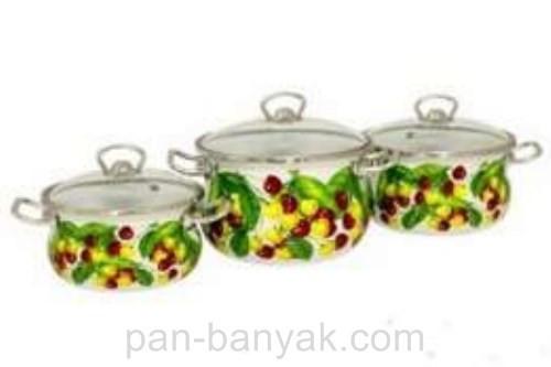 Набор посуды Epos Вкусняшка 6 предметов емаль (№1000 Вкусняшка)