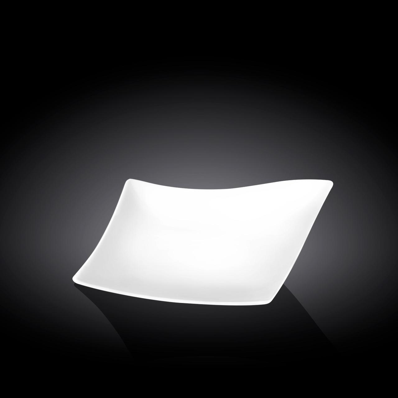 Блюдо Wilmax Diamond 25х21 см фарфор (992786 WL)