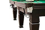 """Бильярдный стол """"Магнат"""" размер 9 футов игровое поле из ЛДСП для игры в Американский Пул Стандартная, фото 4"""