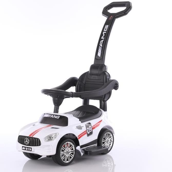 Дитяча машина-толокар з батьківською ручкою Mercedes T-932 WHITE