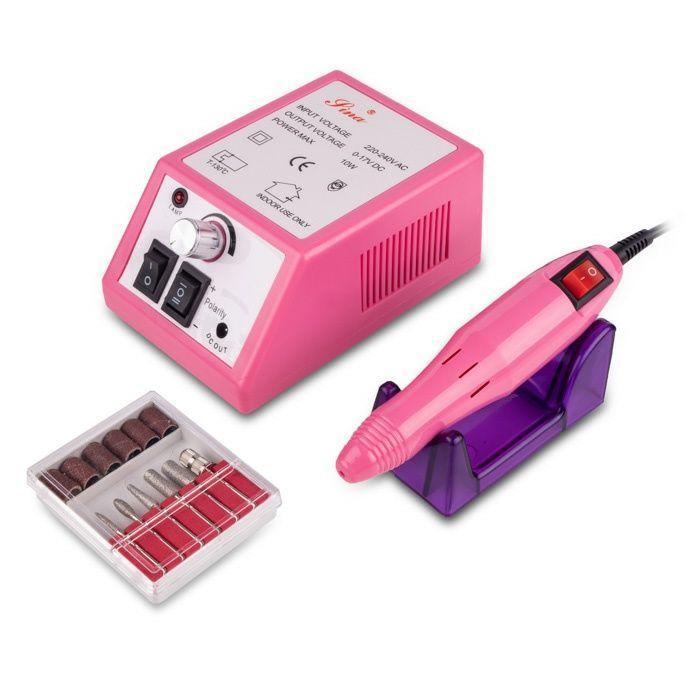 Фрезер для маникюра/педикюра Lina 20000 (12W/20000 об.) Розовый