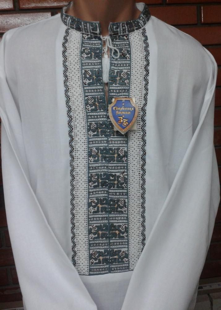 Оригінальна чоловіча вишиванка ручної роботи  продажа 9208a9f7acd79