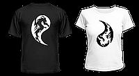 """Парные футболки """"Инь и Янь"""", фото 1"""