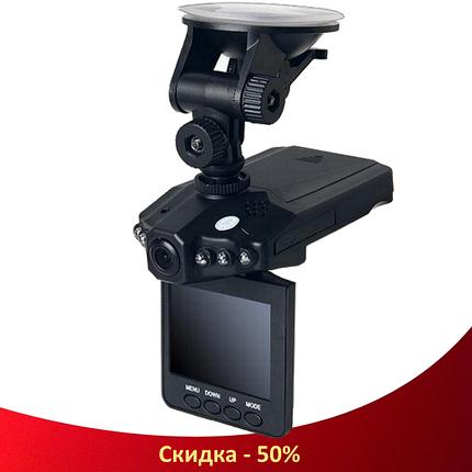 Автомобільний відеореєстратор HD DVR 198 2.5 lcd - автореєстратор зі звуком і нічний зйомкою, фото 2