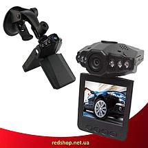 Автомобільний відеореєстратор HD DVR 198 2.5 lcd - автореєстратор зі звуком і нічний зйомкою, фото 3