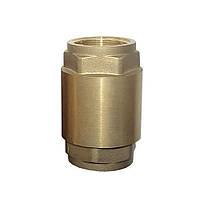 """Клапан обратный (усиленный) 1""""F×1""""F (латунь) euro AQUATICA (779654), фото 1"""