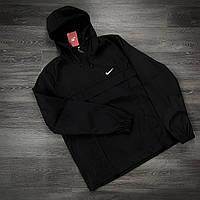 Анорак Nike President Мужской Черный найк ветровка осенняя весенняя спортивная