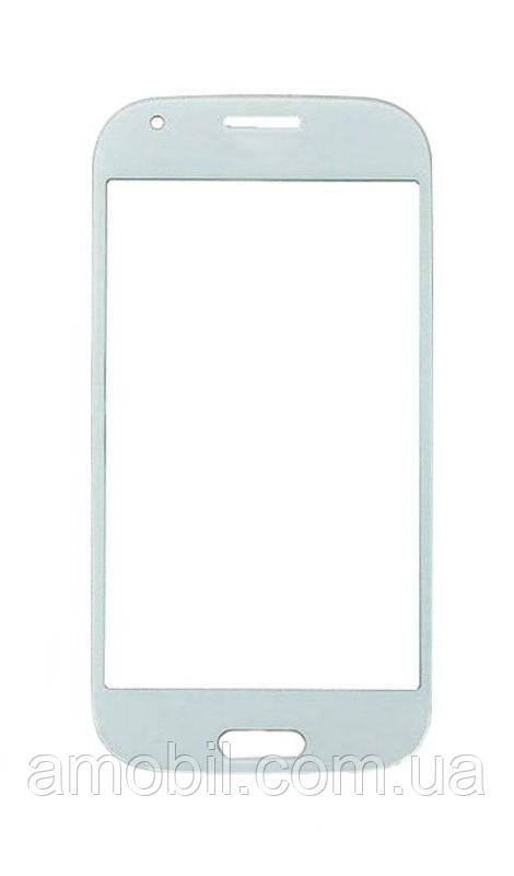 Стекло дисплея Samsung G357 белое