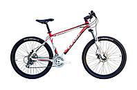 """Велосипед горный в коробке 26"""" Leon XC PRO AM DD рама-18"""" Al чёрно-красный (SKD-LN-26-044-1)"""