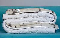 Одеяло полуторное Шерстяное ОДА   Тепла ковдра 155х210 см.   Хутряна ковдра   Одеяло с овечьей шерсти  