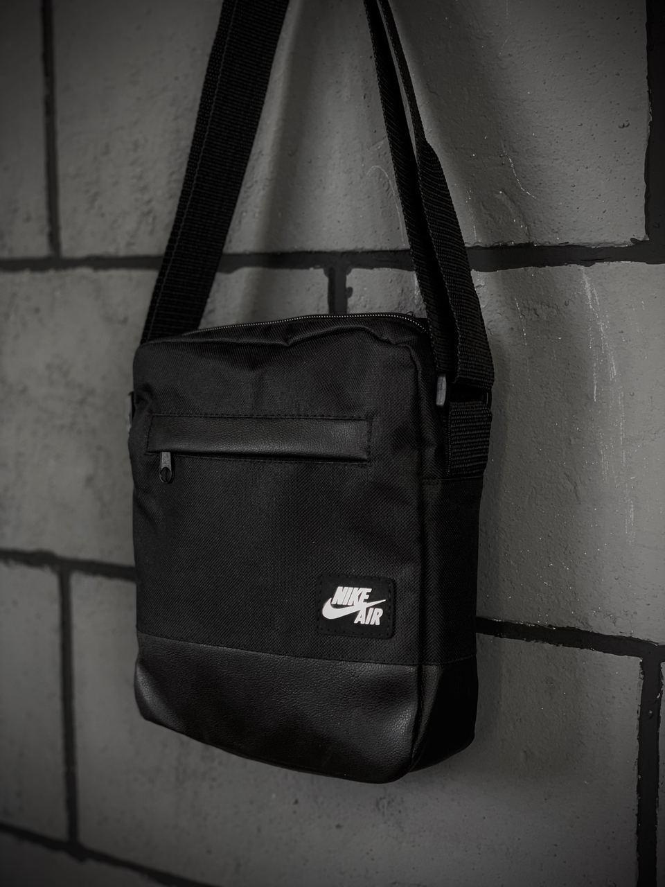 Барсетка Nike Unique черная Мужская найк сумка через плечо